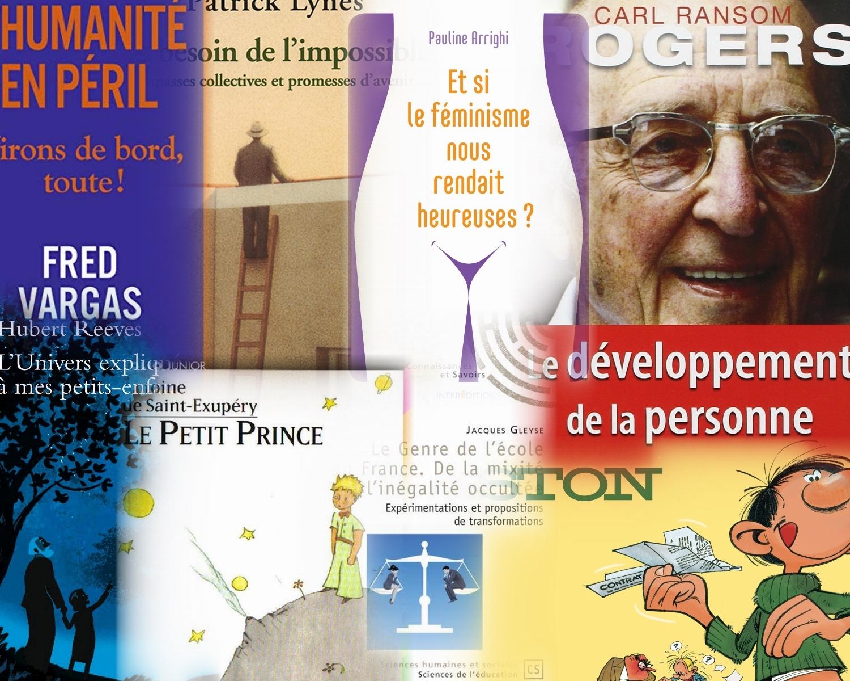 Collage des couvertures de livres lus en 2019.